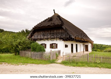 Old Hungarian farmer's house