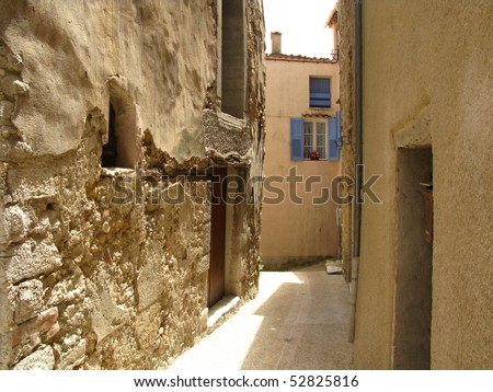 Old little town in Provence