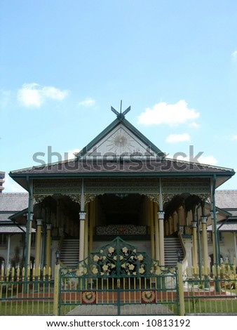 Old Malaya King(Sultan) Palace's architecture