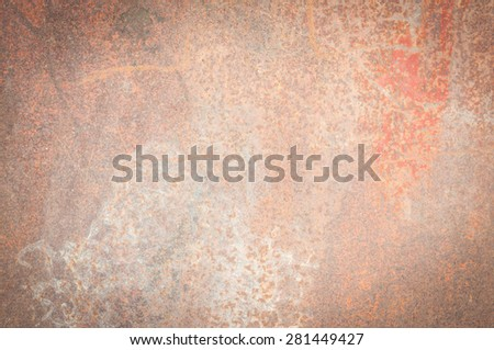 old metal rust background