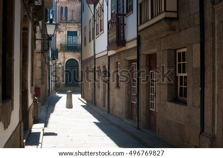 old Portuguese streets