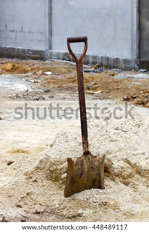 Old shovel