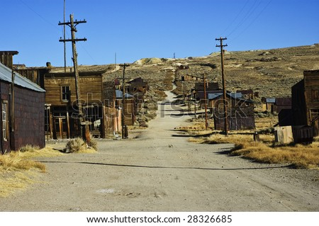 old usa america wild western gold ghost mining town