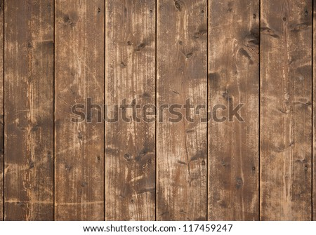 old wood background with panel