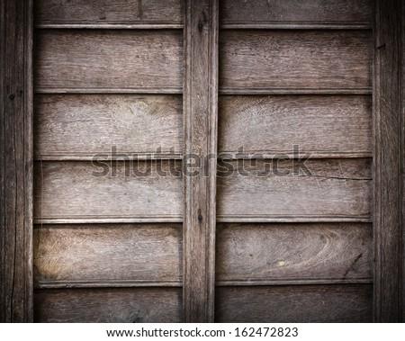 Old wood plank .Weathered wood background panel