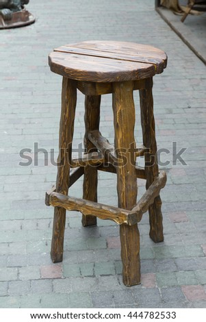Old wooden stool standing on a stone road & Old Wooden Chair Vintage Stool Stock Photo 634250747 - Shutterstock islam-shia.org