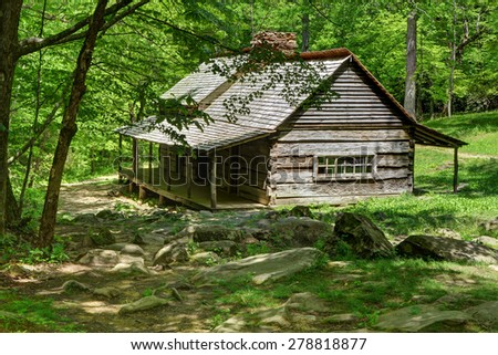Olgle cabin great smoky mountains