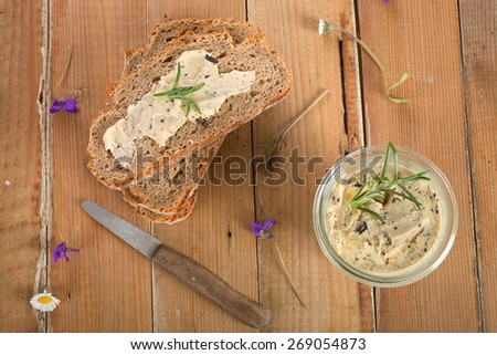 Olive butter spread