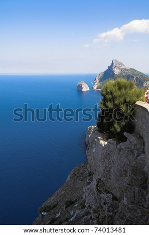 On cape Formentor. Majorca. Spain.