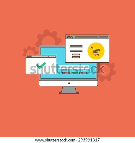Vector Illustration Find Best Price Flat Stock Vector