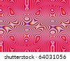 Op Art Flowing Forms 01 15 325 - stock photo