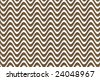 Optical background made of cardboard waves over white - stock vector