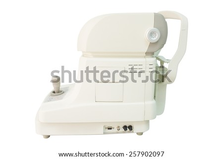 Optical Instruments on a white background