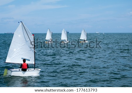 Optimist Sail