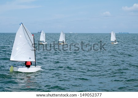 Optimist Sail and Shipping
