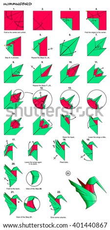 origami hammerhead shark instructions