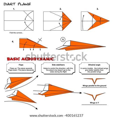 origami animal snake cobra diagram instructions stock
