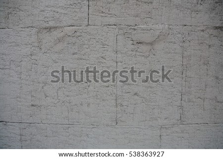 Original volume textured surface of natural stone