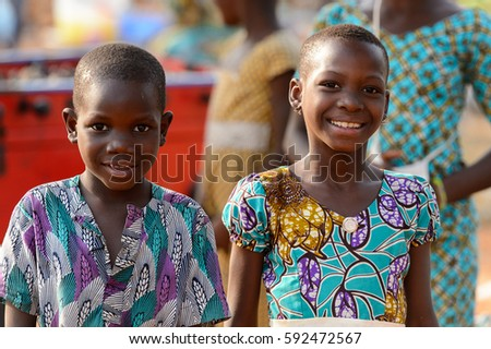 Tamberma Vil Togo Jan 13 2017 Stock Photo 618050267