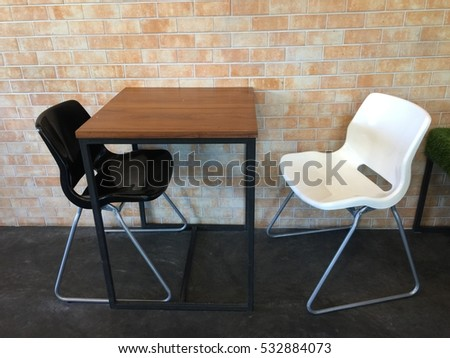 Outdoor & Indoor table set
