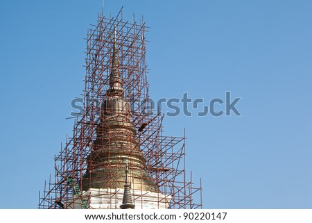 pagoda the construction period