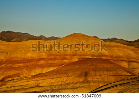 Painted Hills, John Day Fossil Beds National Monument, Northeastern Oregon, U.S.A.