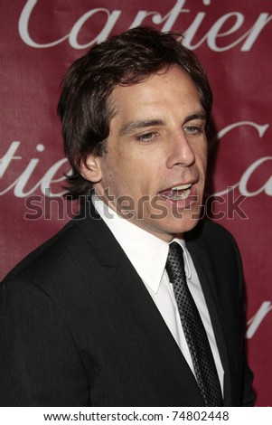 PALM SPRINGS - Jan 6:  Ben Stiller attends the 20th Palm Springs Film Festival Gala on January 6, 2009 in Palm Springs, California.