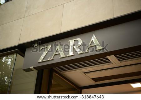 Bank sign on stone background diagonal stock photo - Zara palma de mallorca ...