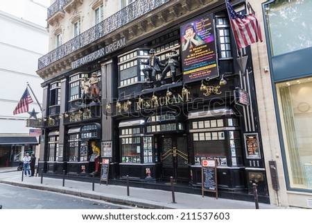 Paris Franceoctober 03 2016 American Dream Stock Photo 495092242 ...