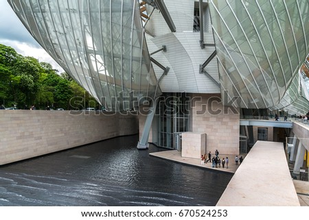Modern Architecture France paris france april 25 2015 modern stock photo 566256844 - shutterstock