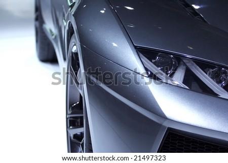 Part Of Futuristic Design Car
