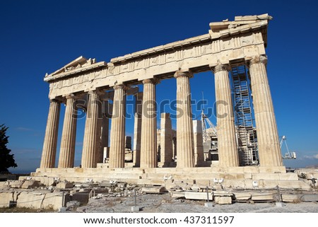 Parthenon. Acropolis. Athens. Greece.
