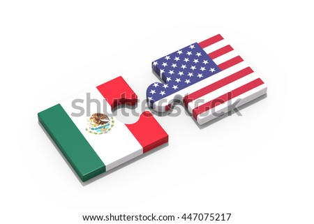Partnership with USA and Mexico / 3D Rendering