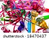 Party blowers - stock