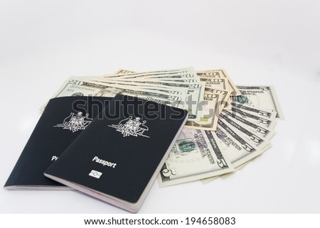 passports and money two of the essentials for international travel