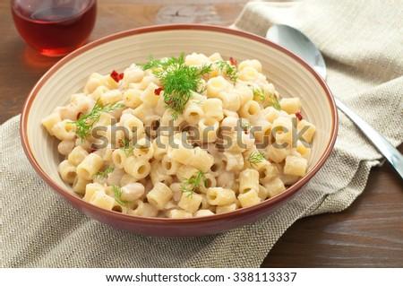 Risotto Mushrooms Fresh Herbs Parmesan Cheese Stock Photo ...