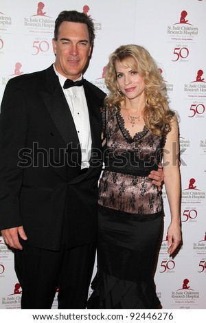 Patrick Warburton and wife at the St. Jude Children's Research Hospital 50th Anniversary Gala, Beverly Hilton, Beverly Hills, CA 01-07-12
