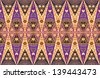 Pattern for traditional clothes malaysia with batik texture - stock photo
