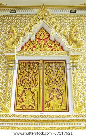 Golden portal baptistery cathedral santa maria stock photo for Antique thai cuisine san diego