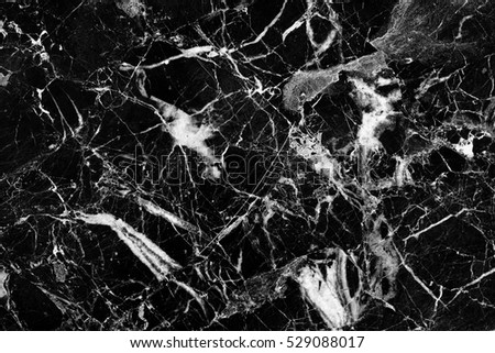 patterned natural structure of black and white marble texture. Abstract  background.