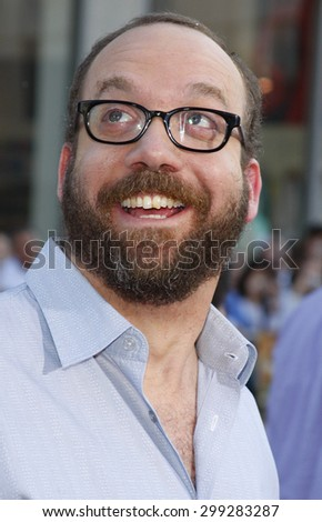 Paul Giamatti at the Los Angeles premiere of 'Fred Clause' held at the Grauman's Chinese Theater in Hollywood on November 3, 2007.