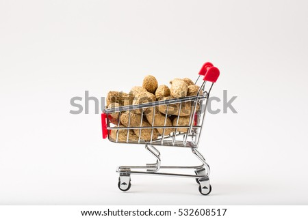 Peanuts in the Shopping Cart