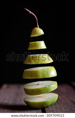 Pear In Slices
