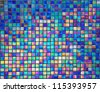 pearl mosaic tiles for  background - stock photo