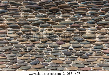 Old Tile Roof Traditional Korean Architecture Stock Photo