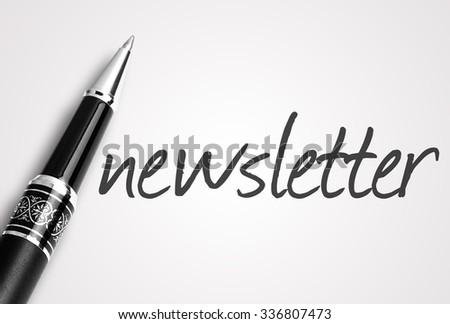 blank newsletter