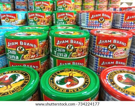 Die logos der grossen fussballvereine fc stock photo for Tuna fish brands