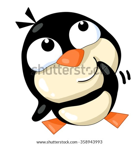 Penguin emotion facial expression (sticker pack)