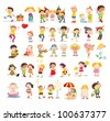 People illustration on white background - EPS VECTOR format also available in my portfolio. - stock photo
