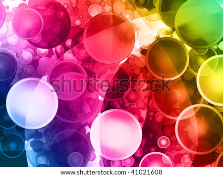 perfect bubble background